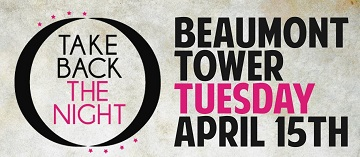 Join us for <B>Take Back The Night </B>at Michigan State University!